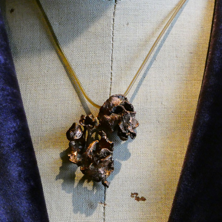 Copper Seaweed Necklace